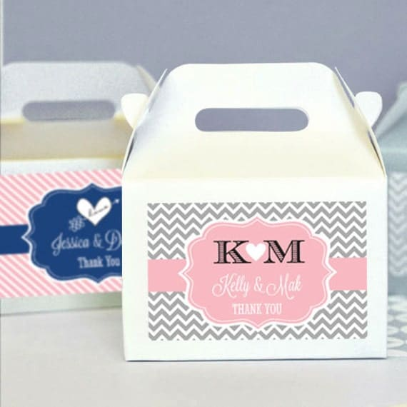 Unique Bridal Shower Gifts Diy : Unique Bridal Shower Favor Box DIY Wedding Favor Boxes Homemade ...