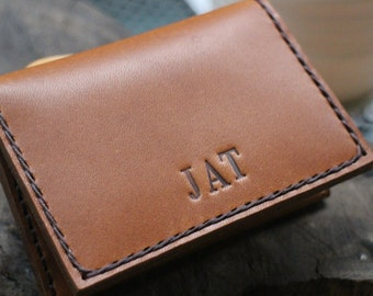 wallet , mens custom leather wallets, , leather wallet, leather credit card, postcard sets, handmade