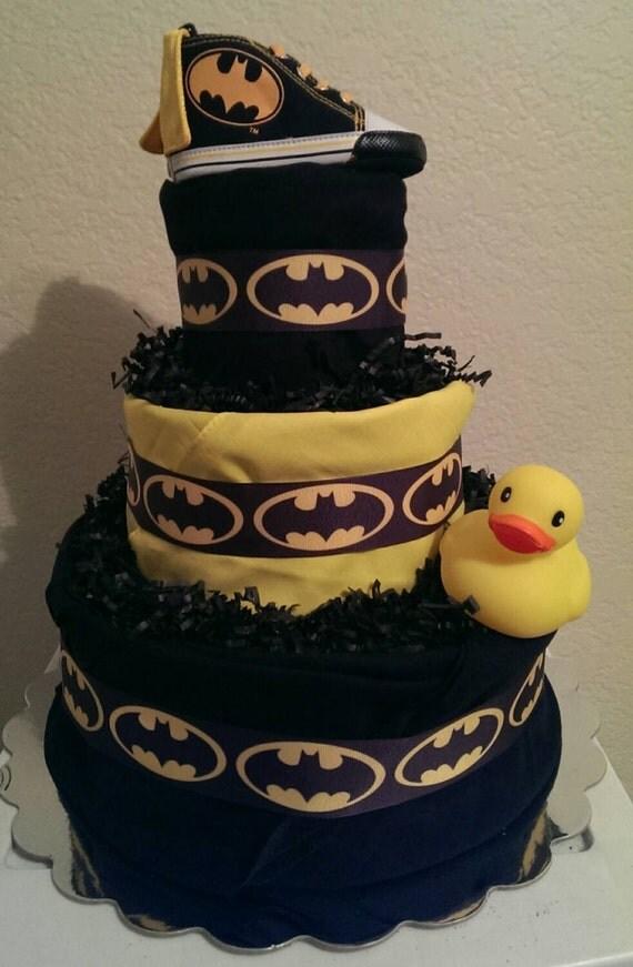 Batman Diaper Cake Ideas