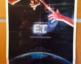 ET Vintage Movie Poster