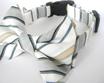 Dog collar Dog bow tie collar Pet collar Adjustable dog collar