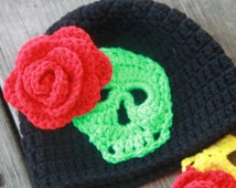 Day of the Dead Crotched Hat
