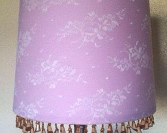Handmade Lamp Shade- Lace