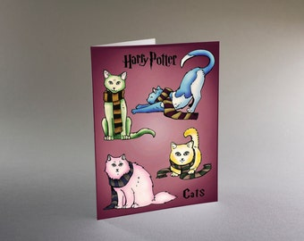 Harry Potter Cats - You're a Hairy Wizard