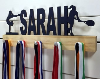 Personalized Multi-Sport Medal Display- 12 or 20 inch