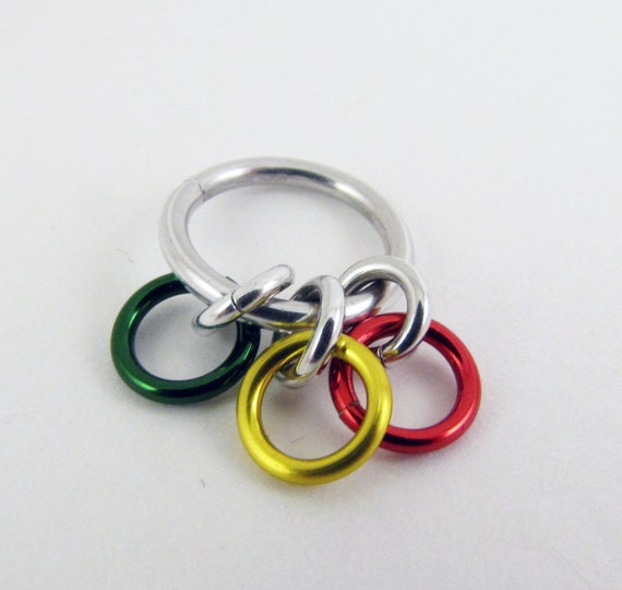 Knitting Counter Ring : Rings sock rainbow row counter