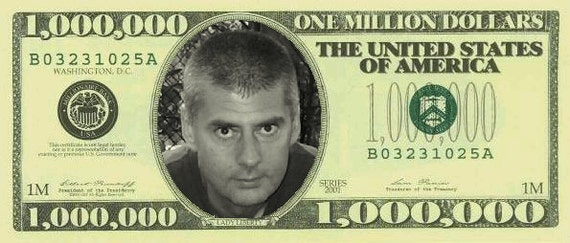 I Will Put Your Face On The Dollar Bill A Set Of 1 2 5