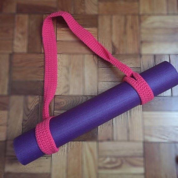 Items Similar To Crochet Yoga Mat Strap On Etsy