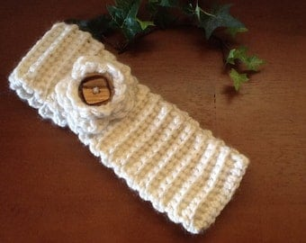 Crocheted Ear Warmer