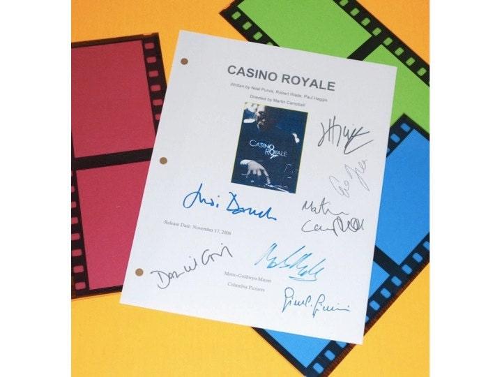 casino movie script