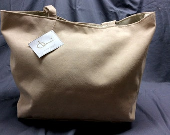 Handcrafted bag made in Italy from eco suede