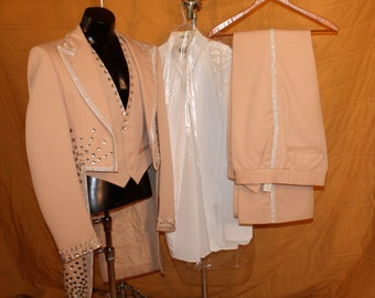 Circus Performers Tuxedo Jacket and accessories