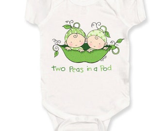 Two Peas in a Pod Onesie