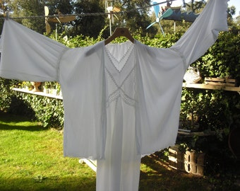 Robe and nightgown shabby chic