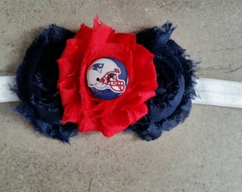 New England Patriots infant/toddler headband.