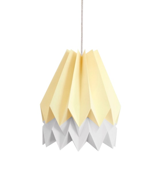 origami l pendant l paper shade for living room