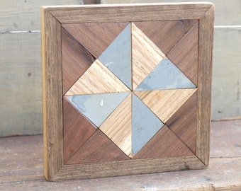 country quilt block, wooden barn quilt, pinwheel quilt