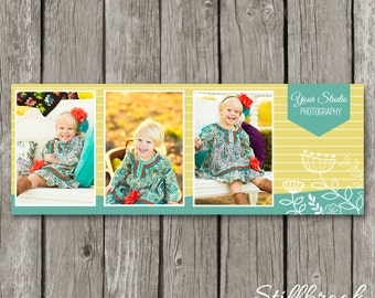 Spring Facebook Cover Photo for Photographers - Spring Marketing Template - Photography Facebook Timeline Cover Banner - TC33
