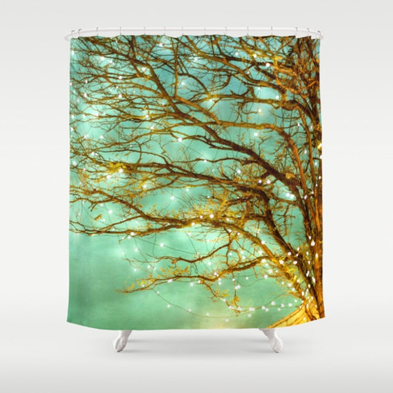 Magical Shower Curtain Bathroom home decor, tree, woodland, whimsical ...