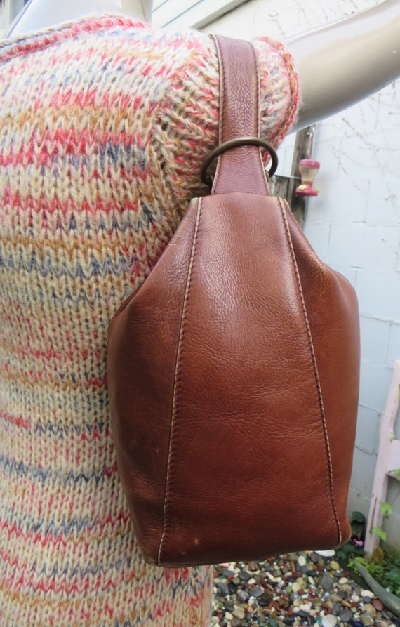 Vintage Hobo International Sling Bag Single Strap Backpack
