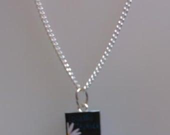 Looking for Alaska Book Novel Necklace Green