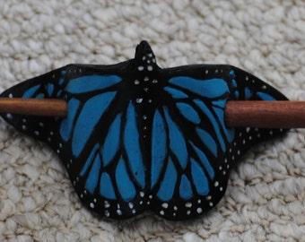 Butterfly Hair Stick Barrette