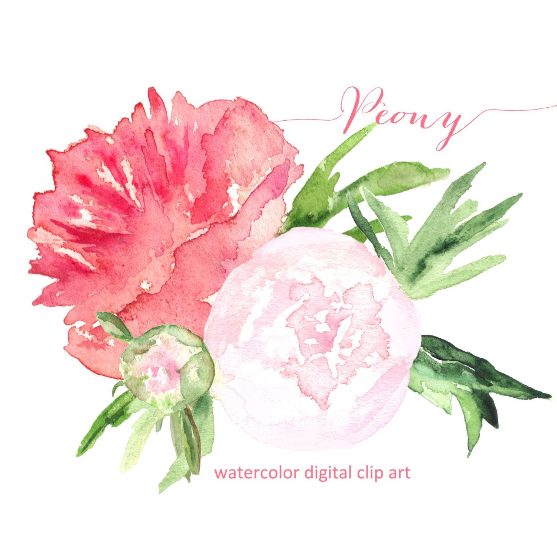 Pink Flower Bouquet Clip Art