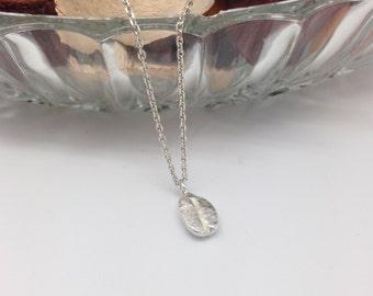 Pendant 'coffee' silver