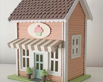 Casita Night Light - Cupcake Store - Handmade