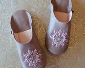 BABOUCHE STELLA // Nuss nuss // Dear Morocco // sheepskin  slippers // BBNN29MM_STP