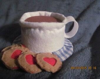 Tea Cup Mini Top Hat