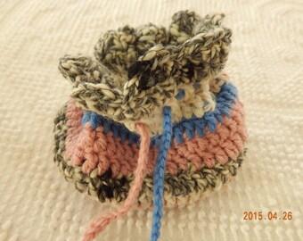 Crocheted Treasure Bag
