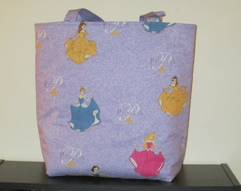 Large Disney Princess Tote Bag