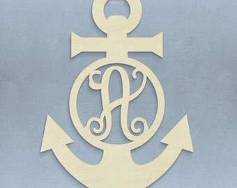 "23"" Anchor Monogram"