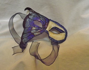 Half butterfly female masquerade mask