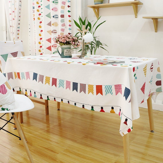 Baby Showers Birthday Party Tablecloths Window Curtain Panels