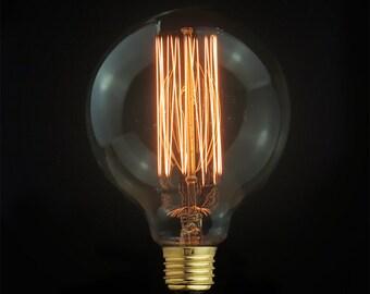 Small / Medium/ Large Edison E27 Globe Squirrel-Cage Filament Light Bulb-edison bulb-110v & 220v - edison light bulb - industrial style