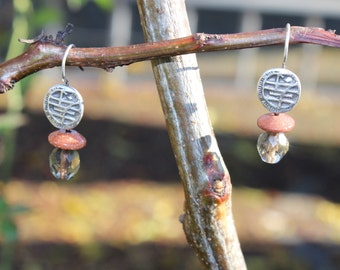 Bridal boho earrings - bridal jewelry boho - gypsy earrings - bohemian - cheap boho jewelry - boho jewelry cheap - boho earrings set