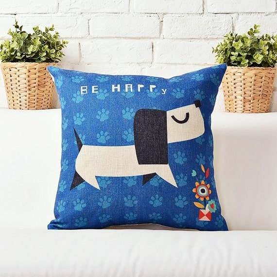 Fun Throw Pillows For Couch : Throw Pillow Cover Fun Decorative Pillows by MikoCountryHomes