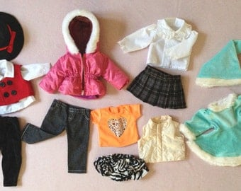 50% Off! Multi-Set Doll Clothes for American Girl Dolls G13-B