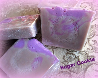Sugar Cookie Scented Soap~Bakery Soap~Cookie Scented Soaps~Glycerin Based Soaps