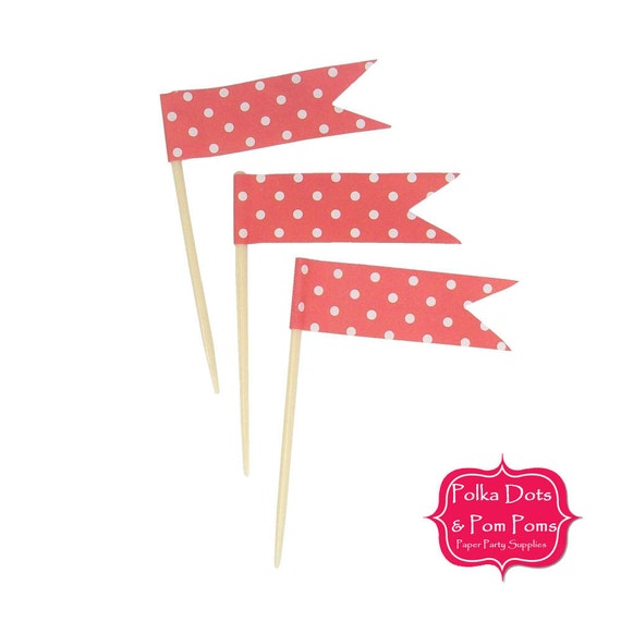 polka dot party flags - photo #23