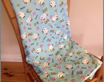 Baa Baa Sheep Blanket - Super Cute and Ready to Ship Now