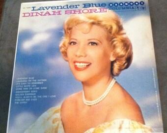Dinah Shore - Lavender Blue (LP -  33 RPM) Vinyl