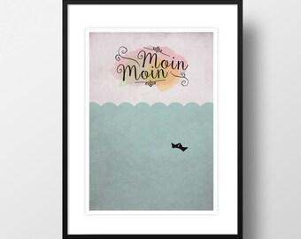 """Artprint """"Moin Moin"""""""