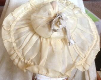 Antique Doll Hat Wire Brim