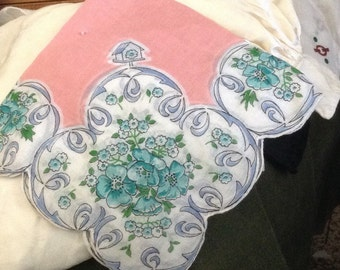 Wonderful Vintage Handkerchief for Spring