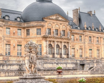 French country cottage of Vaux Le Vicomte outside of Paris, France Travel Photography,  8x10, 11x14, 16x24, 20x30, photography, Home Decor