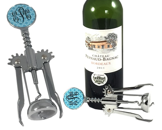 items similar to wine opener personalized wine bottle opener wedding gift personalized wine. Black Bedroom Furniture Sets. Home Design Ideas
