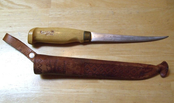 Vintage Rapala Fillet Knife Fish